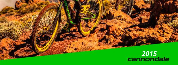 Catálogo de Cannondale 2015. Toda la gama de bicicletas Cannondale para la temporada 2015