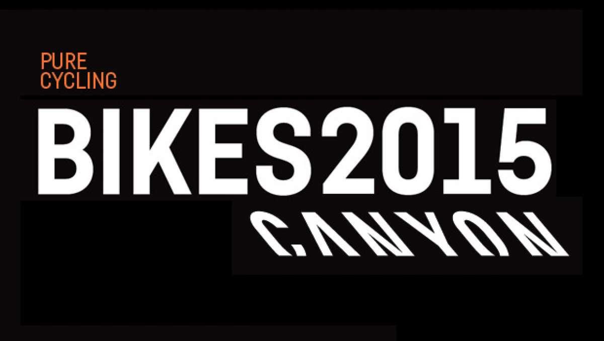 Catálogo de Canyon 2015. Toda la gama de bicicletas Canyon para la temporada 2015