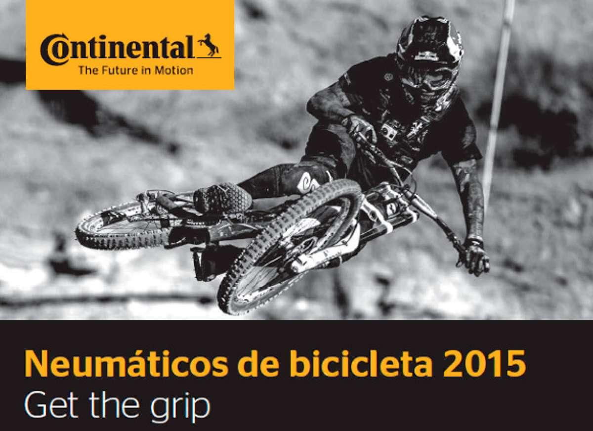 Catálogo de Continental 2015. Toda la gama de cubiertas Continental para la temporada 2015