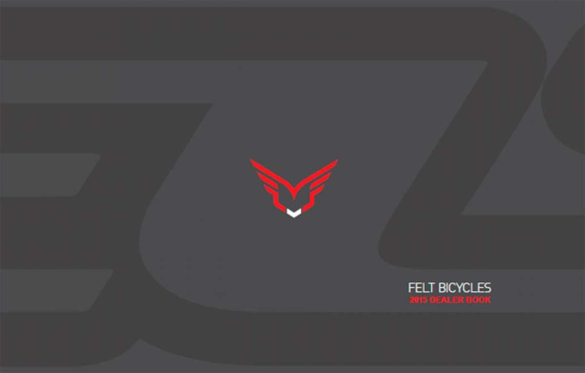 Catálogo de Felt 2015. Toda la gama de bicicletas Felt para la temporada 2015