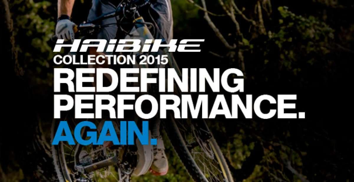 Catálogo de Haibike 2015. Toda la gama de bicicletas Haibike para la temporada 2015