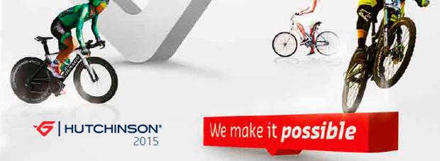 Catálogo de Hutchinson 2015. Toda la gama de cubiertas Hutchinson para la temporada 2015