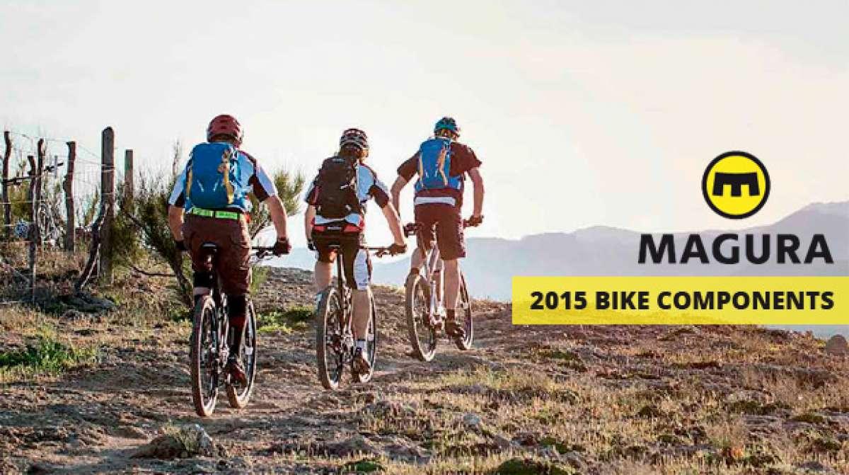 Catálogo de Magura 2015. Toda la gama de frenos y suspensiones Magura para la temporada 2015