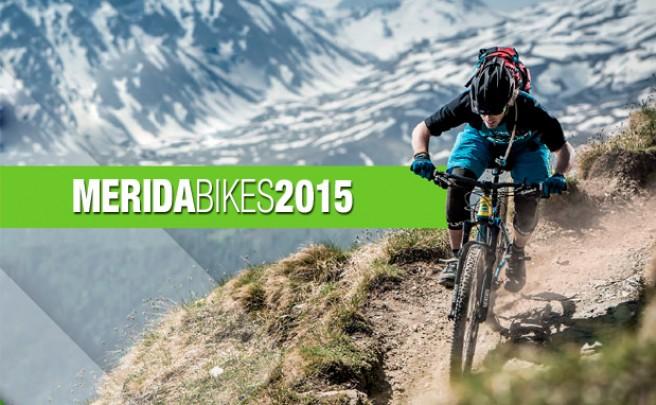 Catálogo de Merida 2015. Toda la gama de bicicletas Merida para la temporada 2015