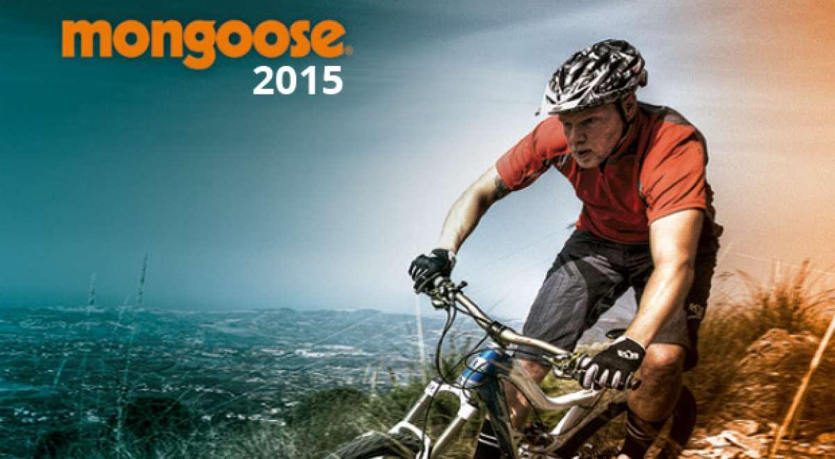 Catálogo de Mongoose 2015. Toda la gama de bicicletas Mongoose para la temporada 2015