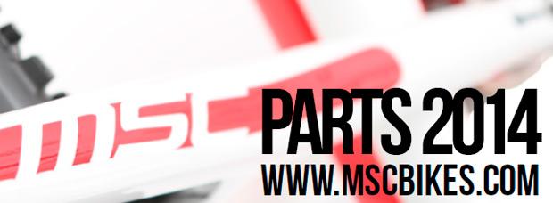 Catálogo de MSC Bikes 2014. Toda la gama de productos de MSC Bikes para la temporada 2014