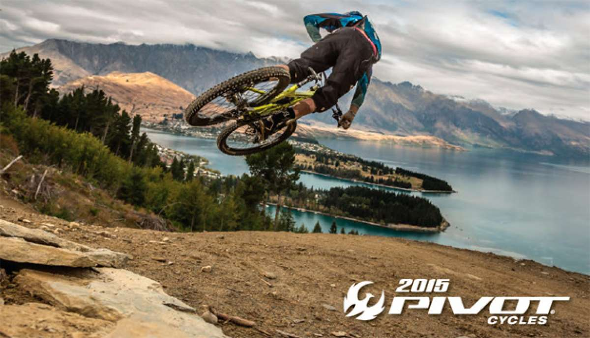 Catálogo de Pivot Cycles 2015. Toda la gama de bicicletas Pivot Cycles para la temporada 2015