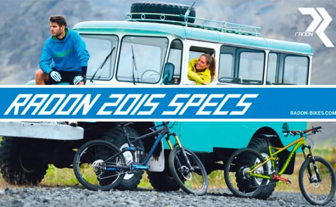 Catálogo de Radon 2015. Toda la gama de bicicletas Radon para la temporada 2015