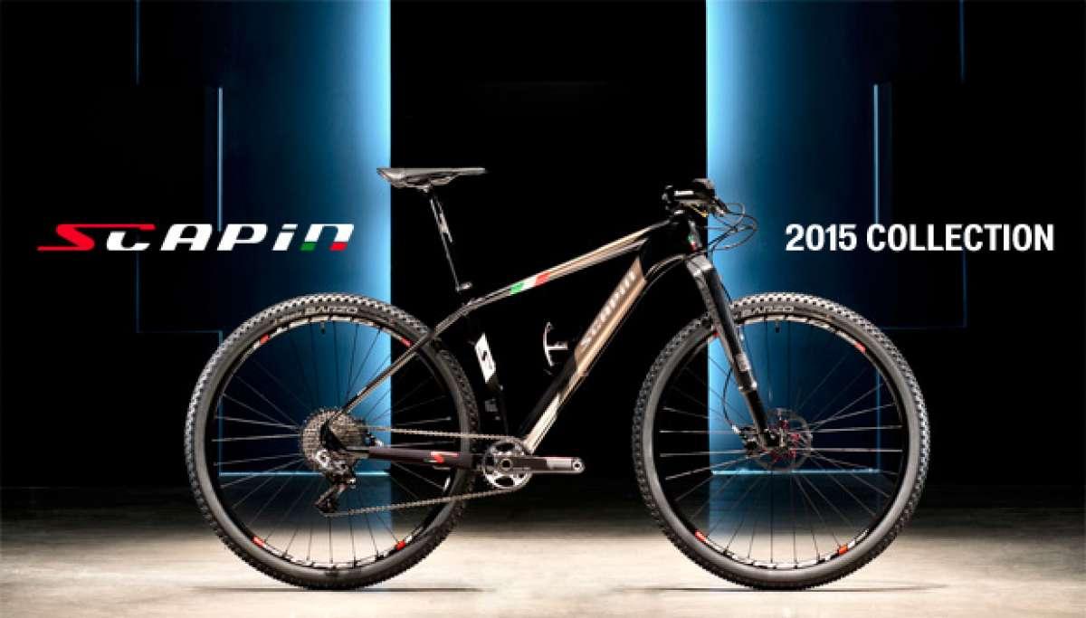 Catálogo de Scapin 2015. Toda la gama de bicicletas Scapin para la temporada 2015