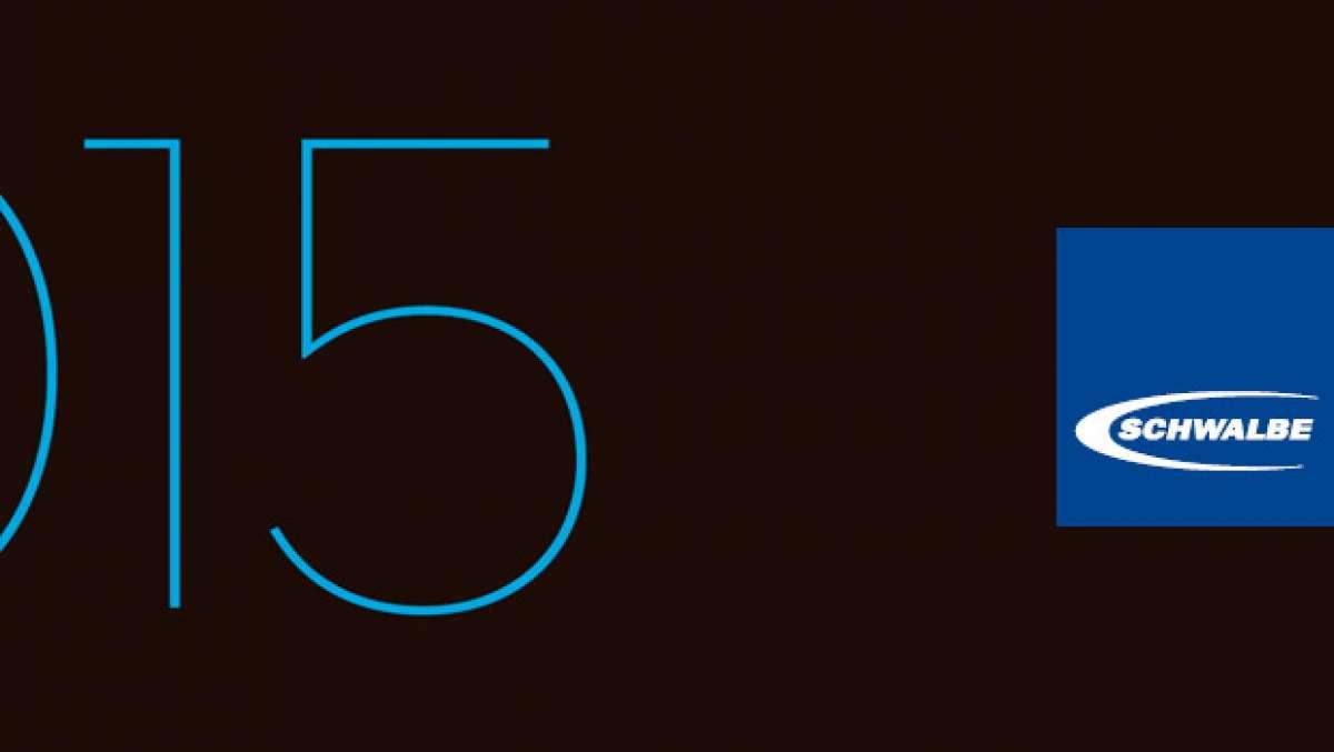 Catálogo de Schwalbe 2015. Toda la gama de cubiertas y accesorios de Schwalbe para la temporada 2015
