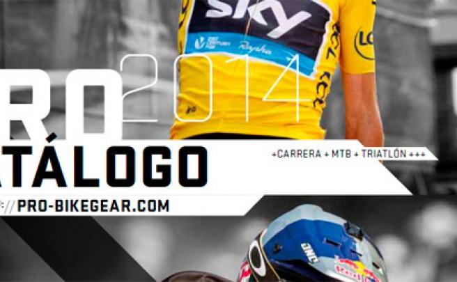 Catálogo de Shimano PRO 2014. Toda la gama de componentes Shimano PRO para la temporada 2014