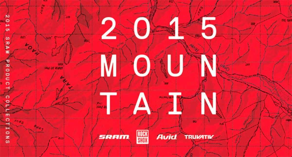 Catálogo de SRAM 2015. Toda la gama de productos de SRAM, RockShox, Avid y Truvativ para la temporada 2015