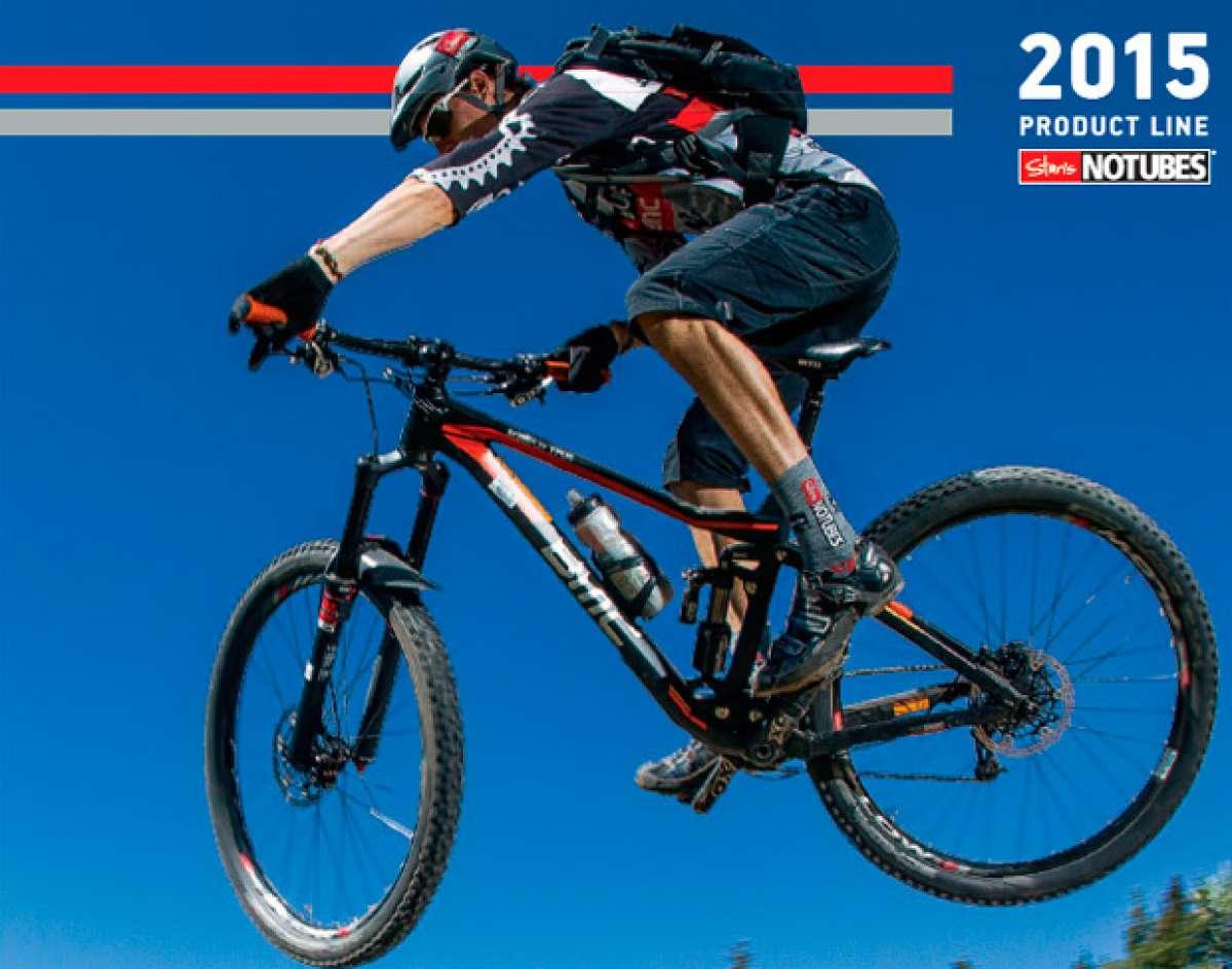 Catálogo de Stan's NoTubes 2015. Toda la gama de ruedas Stan's NoTubes para la temporada 2015