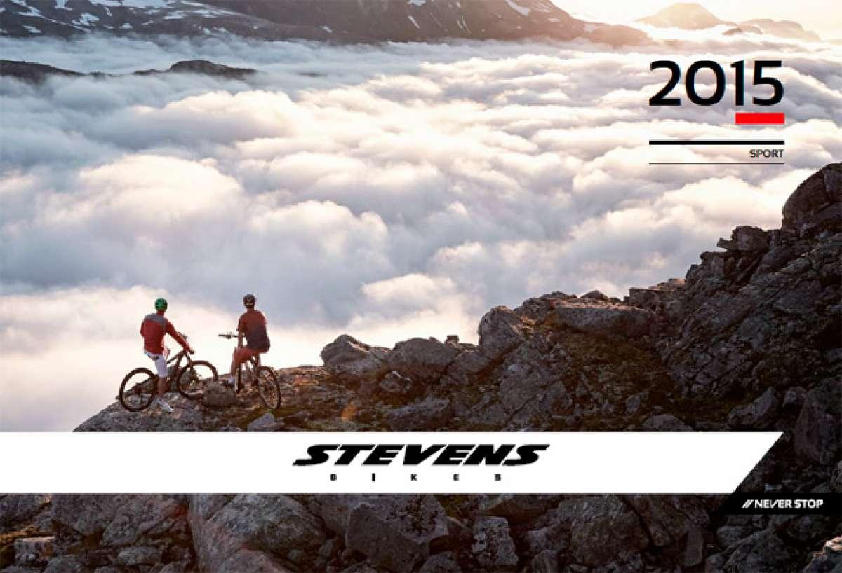 Catálogo de Stevens 2015. Toda la gama de bicicletas Stevens para la temporada 2015