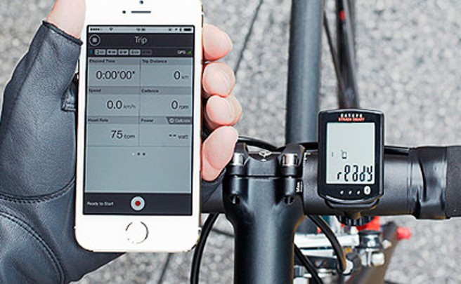 Cateye Strada Smart, un ciclo-computador con conectividad Bluetooth al 100%
