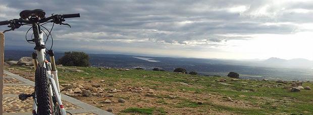 La foto del día en TodoMountainBike: 'Cerro del Telégrafo'