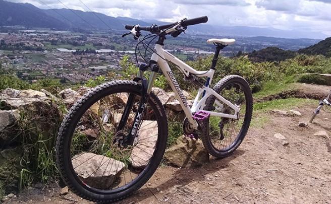 La foto del día en TodoMountainBike: 'Cima de La Valvanera, Chía (Colombia)'