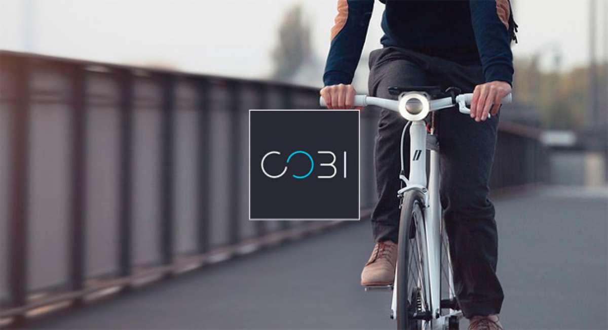 COBI, un sencillo sistema que transforma cualquier bicicleta en un vehículo inteligente