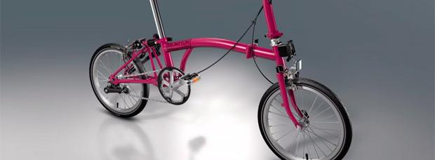 Nuevo configurador 'a la carta' para las bicicletas plegables de Brompton