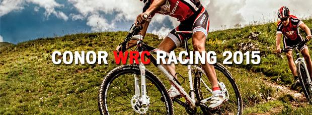 Conor WRC Racing XTR 2015: Ruedas de 27.5 y 29 pulgadas para el modelo tope de gama de Conor