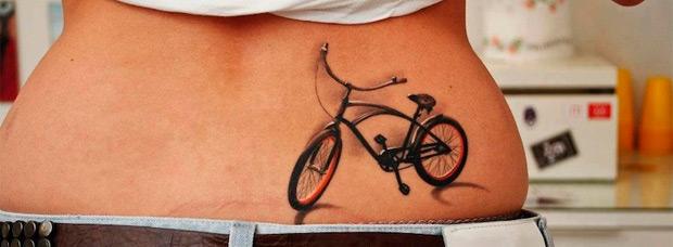 Los tatuajes y el ciclismo. ¿Qué hacer para proteger un tatuaje de las inclemencias del sol?