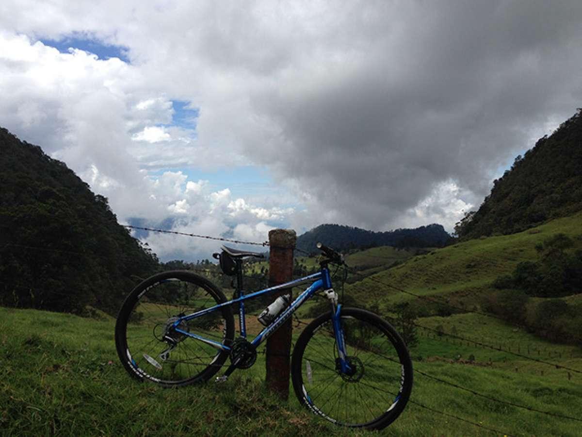 """La foto del día en TodoMountainBike: """"La Cordillera de los Andes"""""""