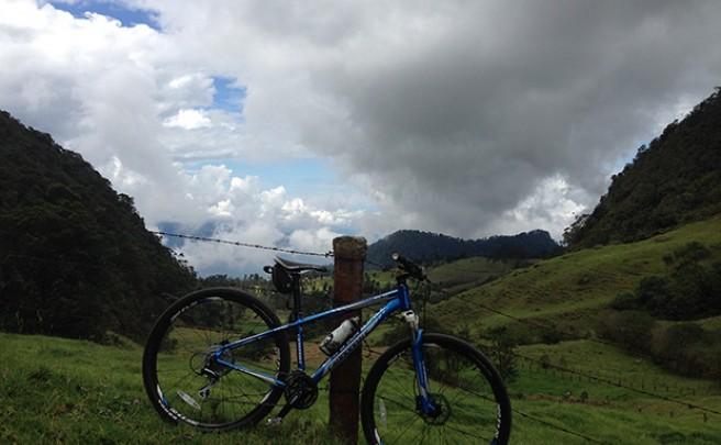 La foto del día en TodoMountainBike: 'La Cordillera de los Andes'