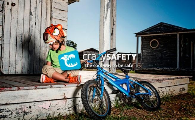 Crazy Safety, los cascos infantiles más originales (y seguros) del mercado