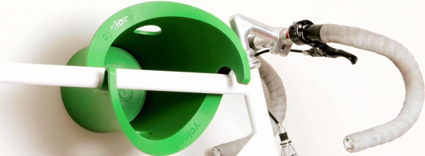 Cycloc Solo: Un soporte de pared para bicicletas con mucho, mucho estilo
