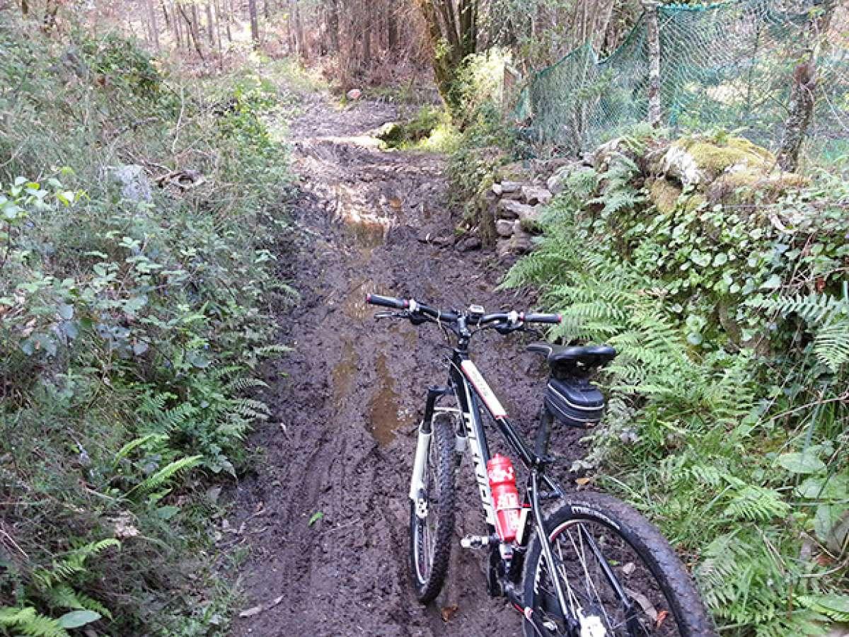 La foto del día en TodoMountainBike: 'A pesar del buen tiempo algunos caminos tardarán en secar'