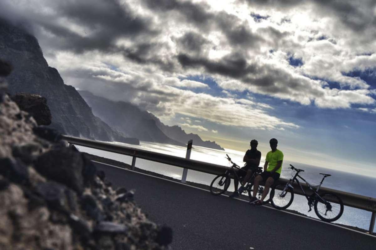 """La foto del día en TodoMountainBike: """"El lado Oeste de Gran Canaria"""""""
