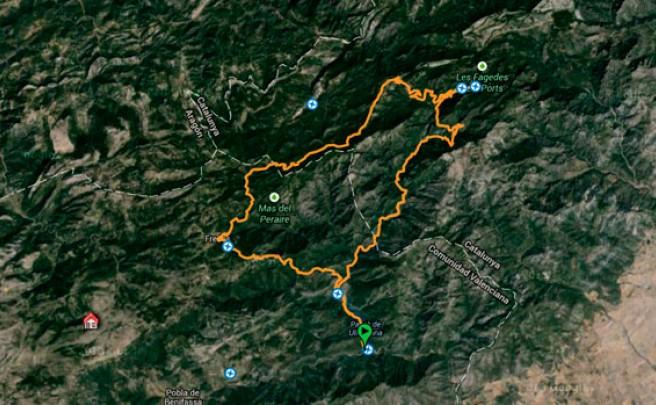 23 Minutos de divertido descenso en el Portell del Infern (Castellón, España)