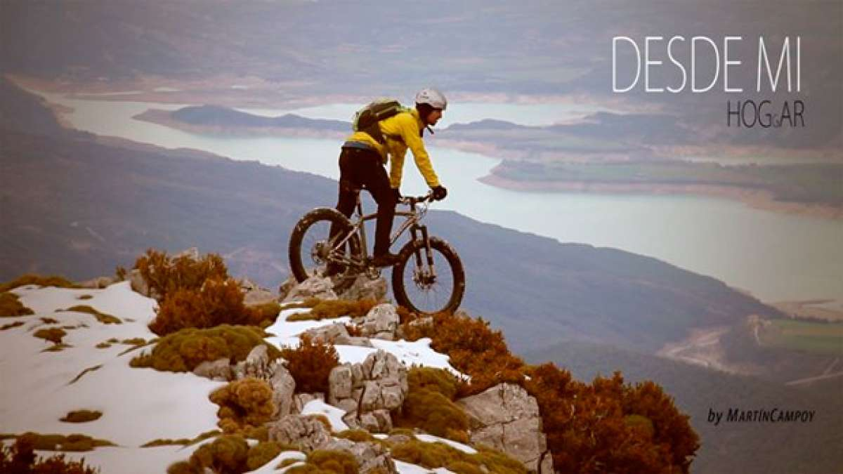 """DESDE mi HOGgAR"": Mountain Bike en los Pirineos con una Fat Bike"