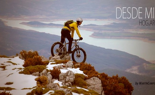 'DESDE mi HOGgAR': Mountain Bike en los Pirineos con una Fat Bike