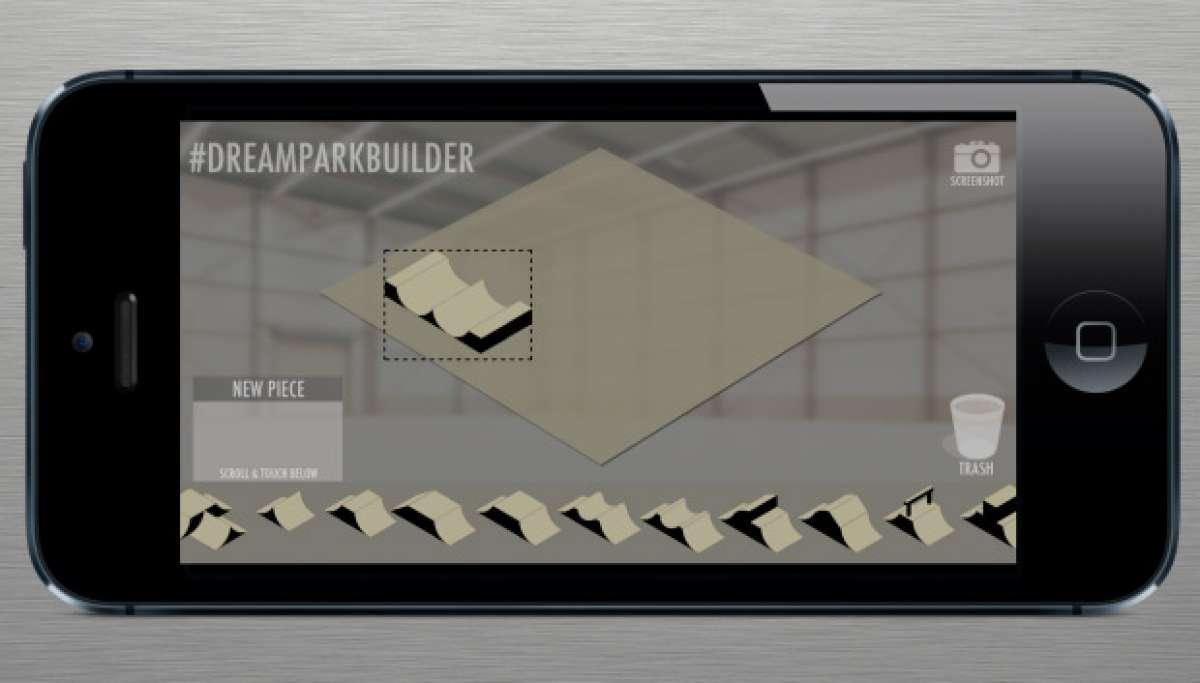 Dream Park Builder, una aplicación iOS y Android para diseñar divertidos circuitos BMX