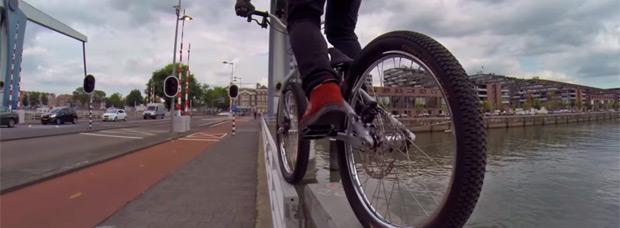 Drop and Roll Tour: Las peripecias de Danny MacAskill en la ciudad de Rotterdam