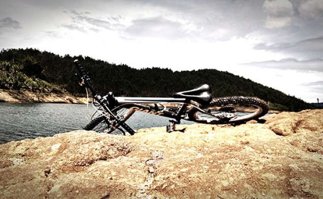 La foto del día en TodoMountainBike: 'Embalse de El Peñol (Colombia)'
