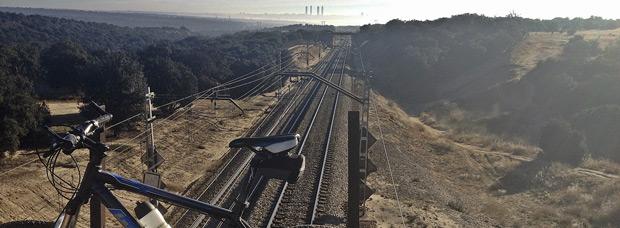 La foto del día en TodoMountainBike: 'Las cuatro torres de La Castellana'