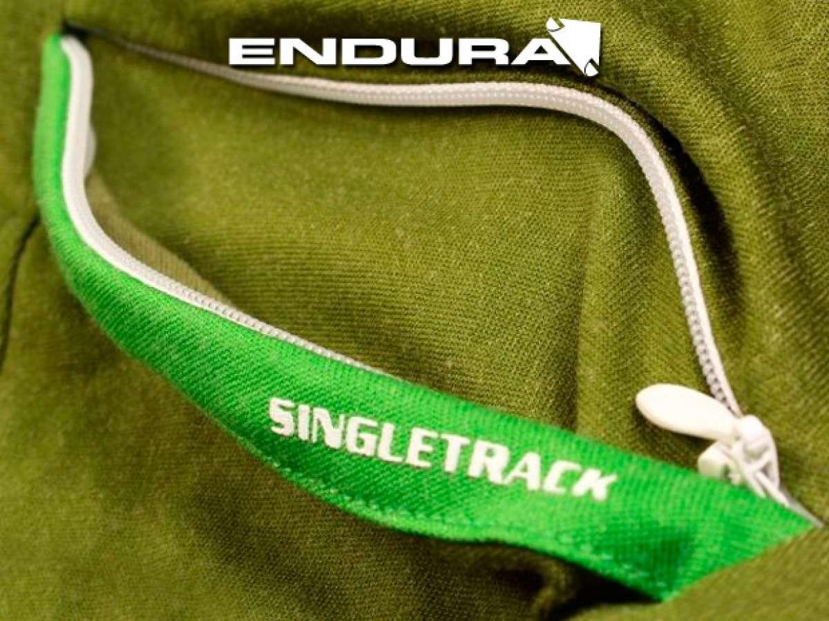 Enduro con estilo: Nuevas camisetas y maillots Endura Singletrack Lite
