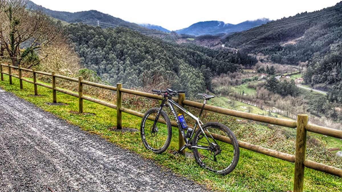 La foto del día en TodoMountainBike: 'La Vía Verde de Galdames (Bizkaia)'
