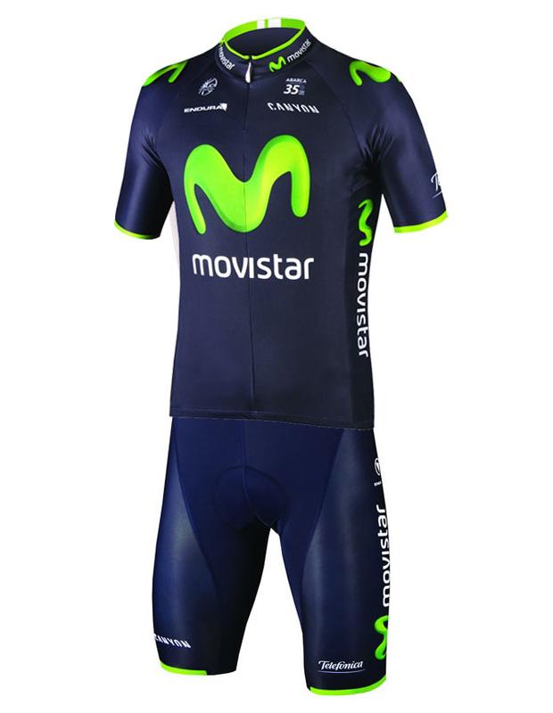 Nuevas equipaciones disponibles del equipo Movistar Team