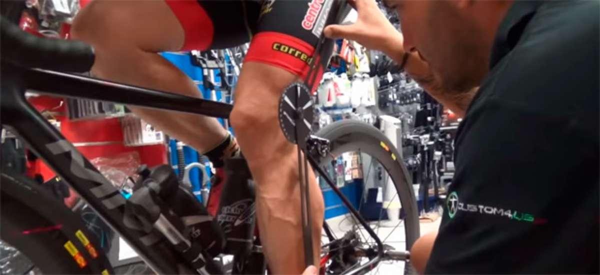 Así se realiza un estudio biomecánico para ciclistas