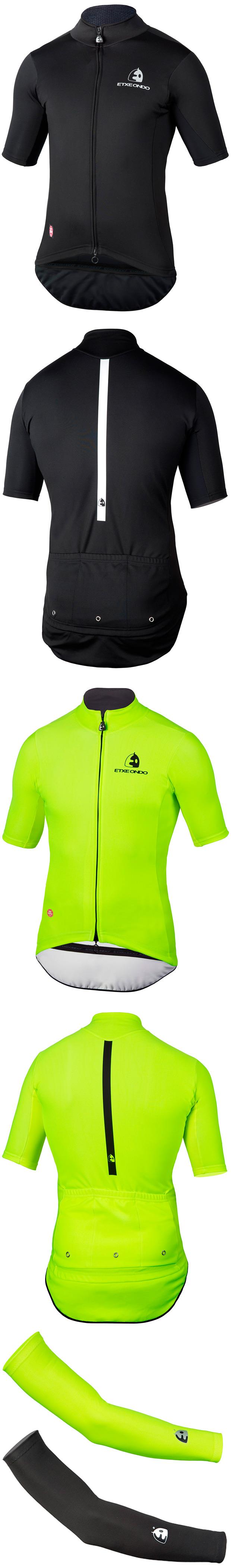 Etxeondo WS Team Edition: Nuevo conjunto de alto rendimiento de maillot y manguitos