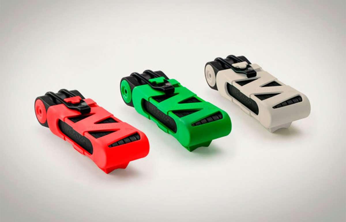 Foldylock, un candado (de diseño) plegable de alta seguridad para bicicletas