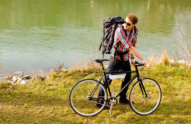 Fontus, un dispositivo para convertir el aire en agua mientras pedaleamos