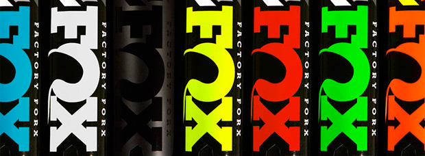 Nuevos colores para los kits de pegatinas Fox Racing Shox Heritage