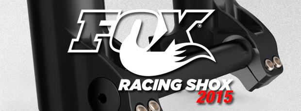 Nuevas decoraciones 'Stealth' para la gama de horquillas Fox de 2015... y otras sorpresas
