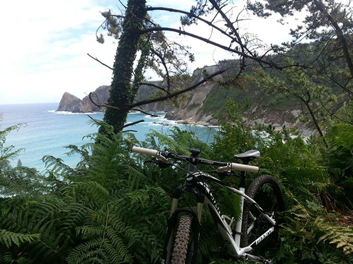 La foto del día en TodoMountainBike: 'La playa, mi bici y Yo'