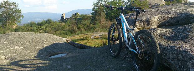 La foto del día en TodoMountainBike: 'Cima del Faro de Budiño'