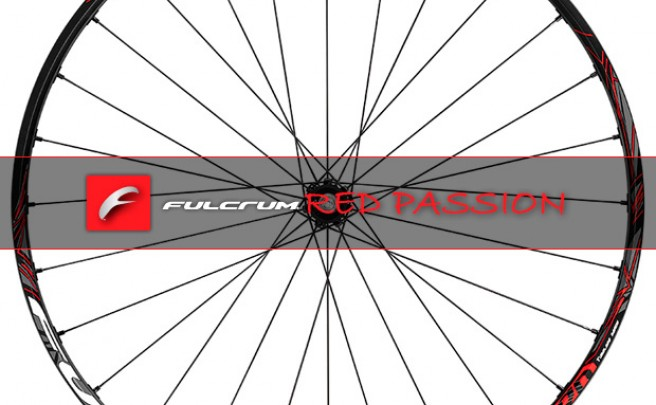 Fulcrum Red Passion, las nuevas ruedas XC de aluminio de Fulcrum